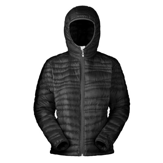 Mountain Hardwear Nitrous Hooded Jacket - W - Black - Foto: Mountain Hardwear