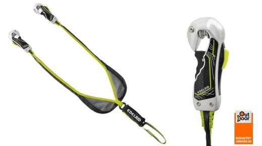 Edelrid Smart Belay mit Bandfalldämpfer - Foto: Edelrid