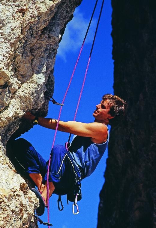 Kletterer im Eisacktal - Bild: www.eisacktal.com