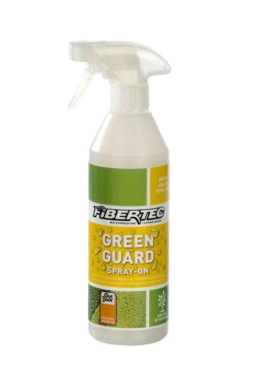 Fibertec GreenGuard SprayOn 500ml - Bild: Fibertec