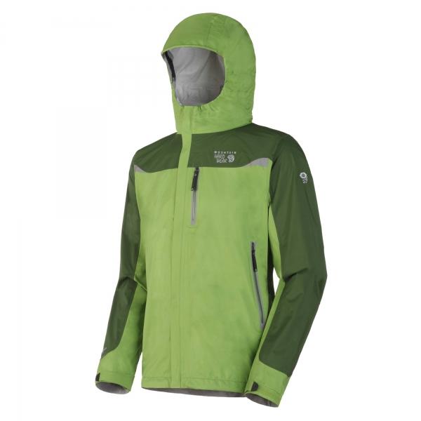 Neu in der Kollektion von Mountain Hardwear das alpine Stretch Cohesion Jacket - Bild: OutDoor / Messe Friedrichshafen