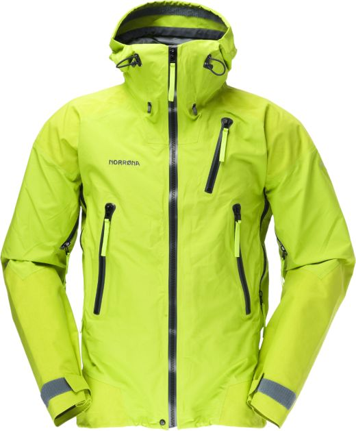 Norrøna Trollveggen GTX Pro Shell Jacket Farbe: birch green Bild: Norrøna