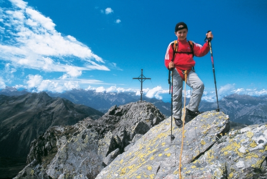 Bergsteigen im Montafon, Fotoverweis: Andreas Künk / Montafon Tourismus