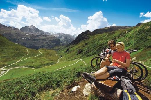 Biken im Montafon, Fotoverweis: Edi Gröger / Montafon Tourismus