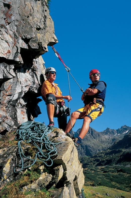 Klettern im Montafon, Fotoverweis: Georg Alfare / Montafon Tourismus