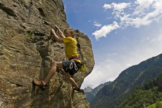 Klettern im Montafon 2, Fotoverweis: Leo Himsl, Montafon Tourismus