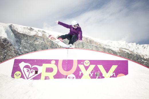 Foto: Die Roxy Riderin Aimee Fuller by Eugen Baxter