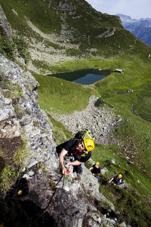 Klettern im Montafon - Bildquelle: Silvretta Montafon