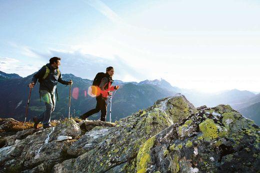 Gratwanderung Zamangspitze - Bild: Montafon Tourimus