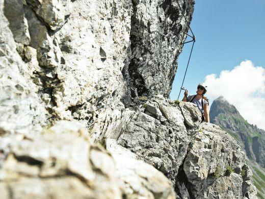Klettersteig Gargellner Köpfe, Foto von Alex Kaiser