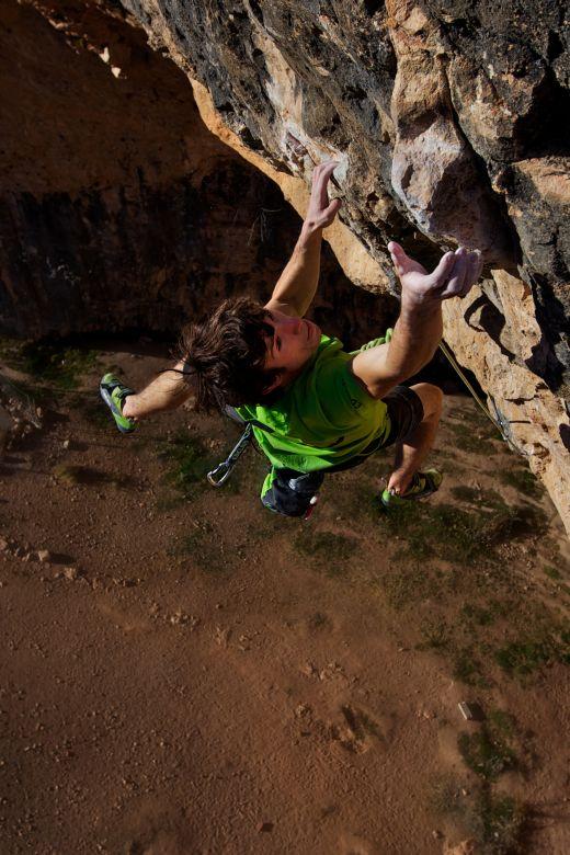 KletterCamp Teilnehmer am Sandstein - Bild: SportScheck