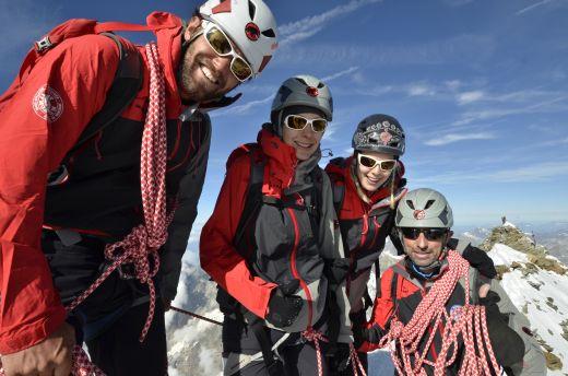 Matterhornbesteigung am Mittwoch, 15. August 2012. - Foto: Robert Boesch