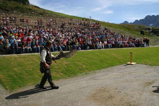 Mayrhofen Adlerbühne: Vorführung vor großem Publikum - Fotocredit: Mayrhofen