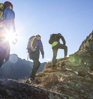 alpines Campen - unvergessliche Stunden unter freiem Berghimmel - Fotograf: Daniel Zangerl / Silvretta Montafon