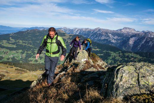 Gipfelsturm Zamangspitze, Fotograf: Daniel Zangerl - Silvretta Montafon
