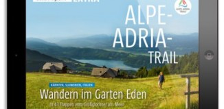 "MARCO POLO travel magazine mit dem ""Alpe-Adria-Trail"" - Fotocredit: MAIRDUMONT"
