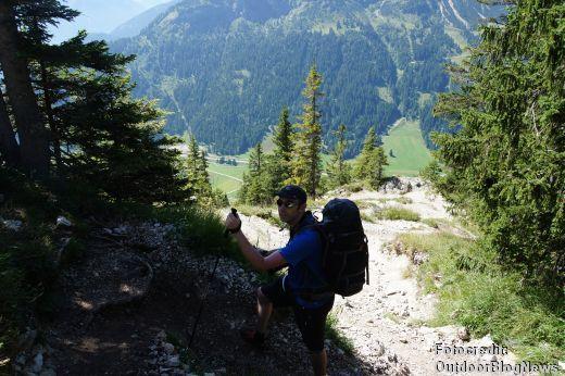 Mit dem Lowe Alpine Mountain Attack 45:55 XL auf Tour