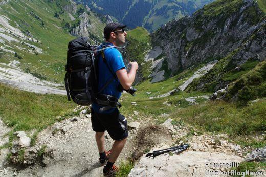 Der Lowe Alpine Mountain Attack 45:55 XL konnte auf Tour vollkommen überzeugen