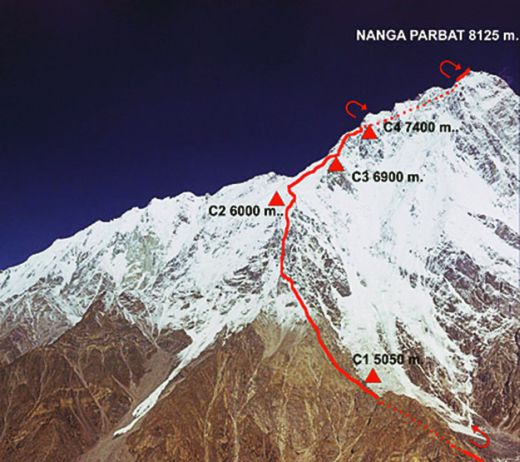 The North Face® NANGA PARBAT Expedition startet am 27.12.2013 - Fotocredit: The North Face