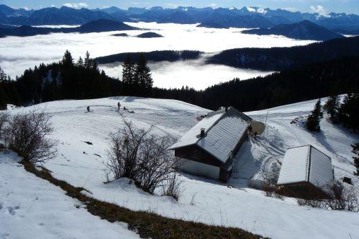 Saisonbeginn auf der Quengeralm, Brauneck - Fotocredit: Katharina Lindlbauer