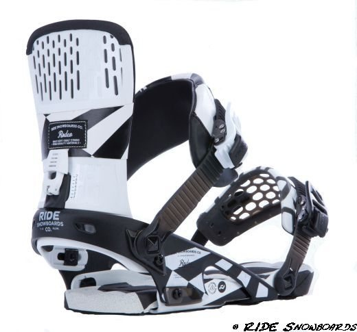 RIDE Snowboards Rodeo Snowboardbindung Fotocredit: RIDE Snowboards