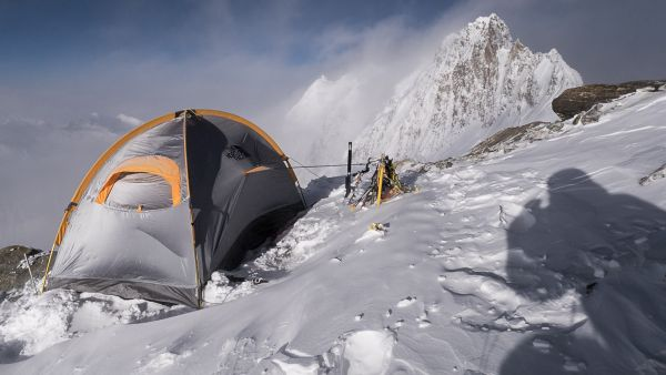 The Assault 23 at C4, at about 7000m - Fotocredit: The North Face
