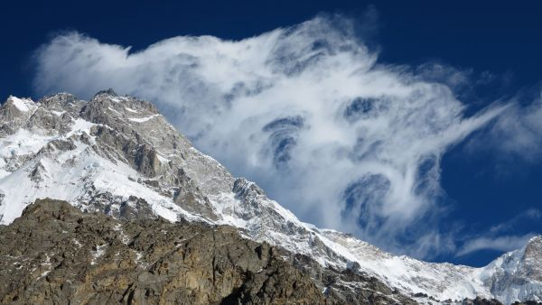 Wind over the Nanga Parbat Summit _ Fotocredit: The North Face