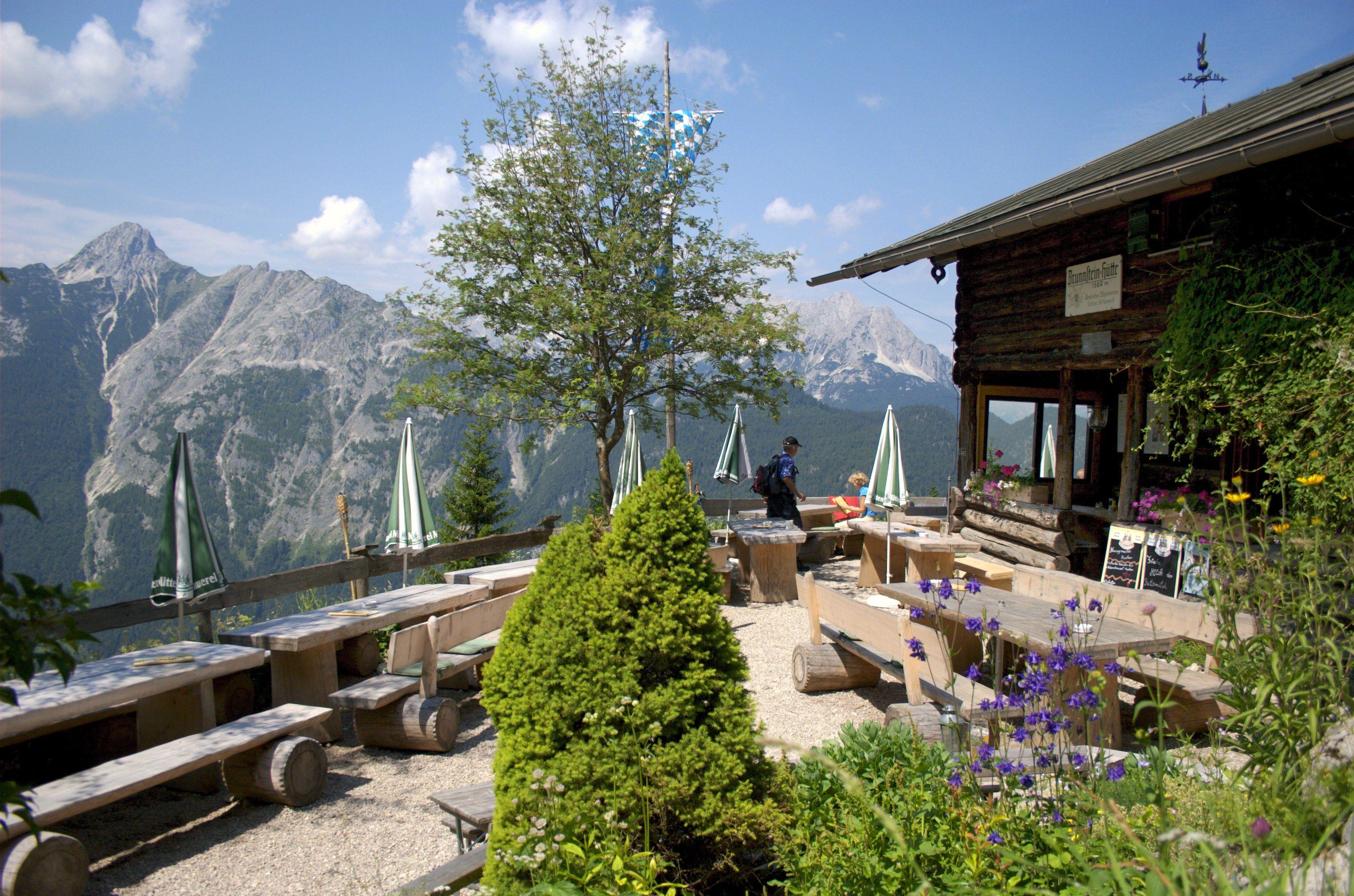 Brunnsteinhütte Fotocredit: Alpenwelt Karwendel