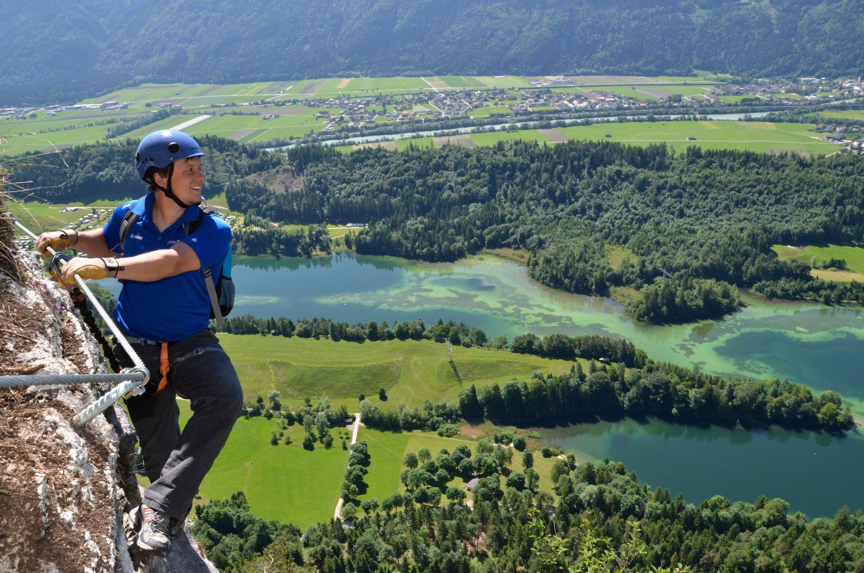 Klettersteig Outfit : Bergtipp klettersteig reintalersee kramsachroute alpin