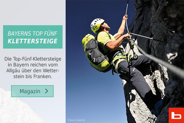 Klettersteigset Bergzeit : Klettersteigroute alpin bergsteigen und klettern im alpinen