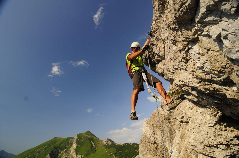 Klettersteig Outfit : Klettersteige im tannheimer tal vielleicht die schönsten