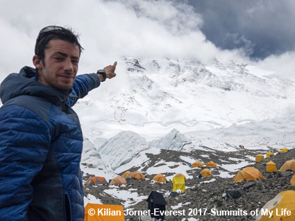 Kilian Jornet-Everest 2017-Summits of My Life - Fotocredit: SUUNTO